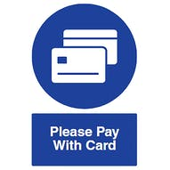 Please Pay With Card
