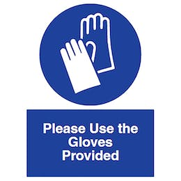 Please Use Gloves