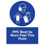 PPE Must be Worn Past This Point