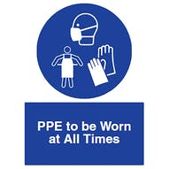PPE to be Worn at All Times