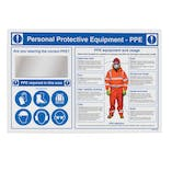 Workplace PPE Station