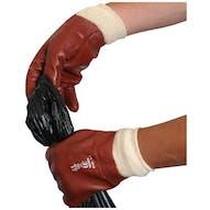 PVC Coated Knitwrist Gloves