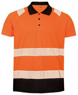Result Recycled Safety Hi-Vis Polo Shirt