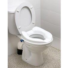 Raised Toilet Seat with Lid