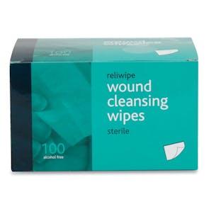 Reliwipe Sterile Moist Saline Wipes