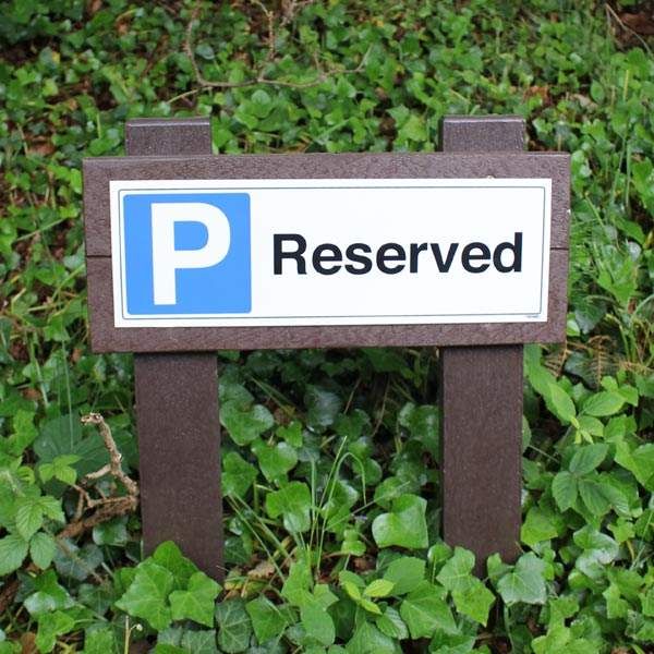 reserved-parking-brown-post.jpg