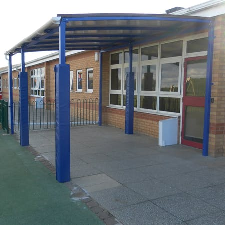 Winterbourne Freestanding Queue Shelters