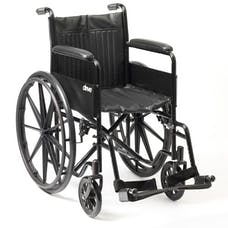 S1 Budget Steel Wheelchair