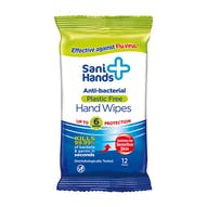 Sani Hands Anti-Bacterial Hand Wipes