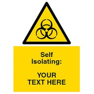 Self Isolating