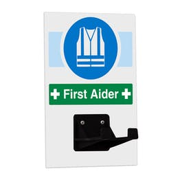 First Aider Hi-Vis PPE Station