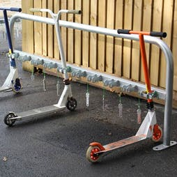 Micro Scooter Racks