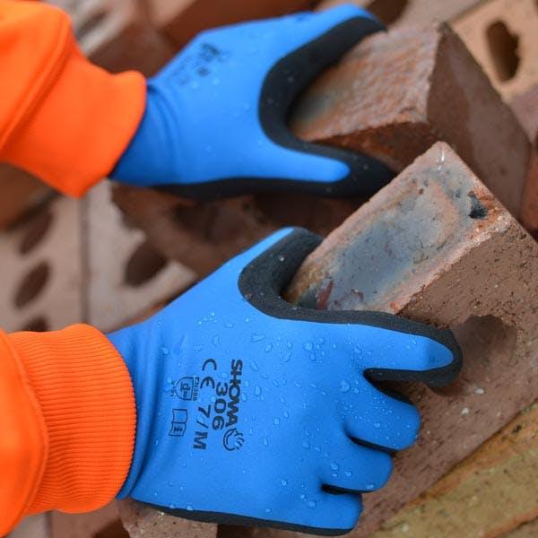 Showa 306 Latex Gripper Gloves