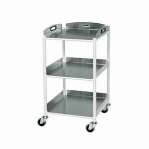 Small Dressing Trolley - Stainless Steel