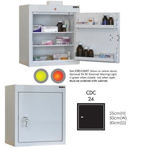 Sunflower Controlled Drug Cabinets SUN-CDC24/NL