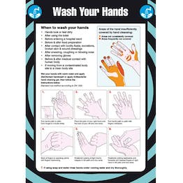 First Aid - Wash Your Hands Poster