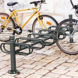 Modular Decorative Cycle Racks - Double Sided