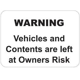 Fiberglass Parking Signs