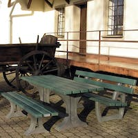 Coventry Bench and Table