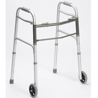 Drive Folding Walking Frame With Wheels