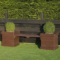 Planters with Benches