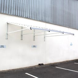 Chiswell Aluminium Canopy