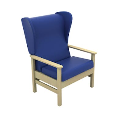 Atlas High Back Bariatric Arm Chair with Wings