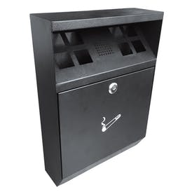 Wall Mounted Square Cigarette Bin