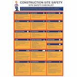 Construction Site Safety Checklist