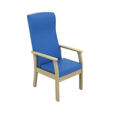 Atlas Patient High Back Arm Chair