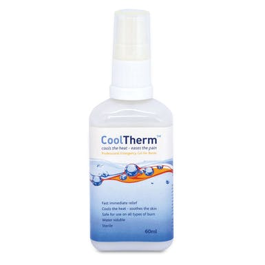 CoolTherm Burn Relief Gel Bottle