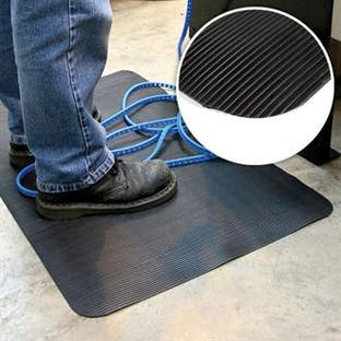 Fine Fluted Anti-Fatigue Mat