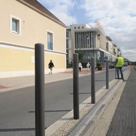 Dome Top Steel Bollards