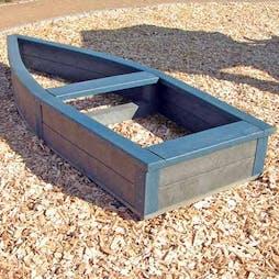 Chester Boat Shaped Sandpit
