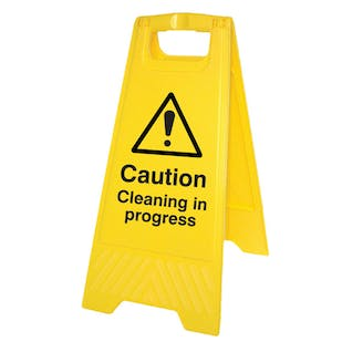 Caution Cleaning In Progress
