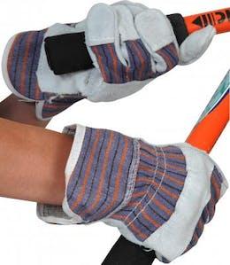 Economy Single Palm Leather Rigger Glove