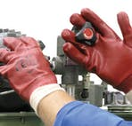 UCI PVC Coated Gripper Gloves