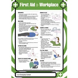 First Aid - Workplace Poster