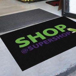 Outdoor Scraper Logo Mat