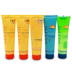 Delph Sun Lotions and After Sun Care