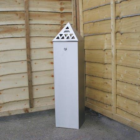 Pyramid Top Tower Cigarette Bin