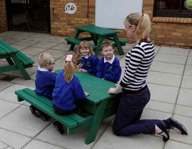 Nursery Picnic Table