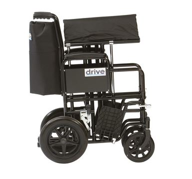Drive Bariatric Steel Transport Chair