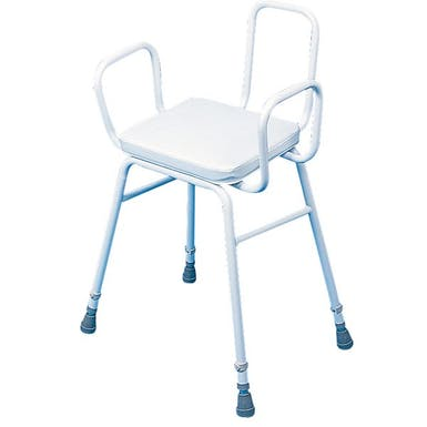 Drive Perching Stool Tubular Arms & Back