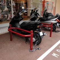 Decorative Motorcycle Stand