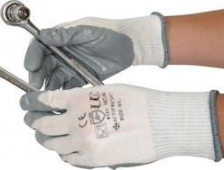 UCI Nitrilon L/W Palm Coated Gripper Gloves