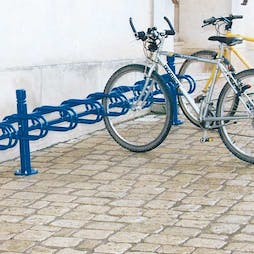 Modular Decorative Cycle Racks - Single Sided