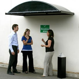 Sandford Smoking Canopy Porch