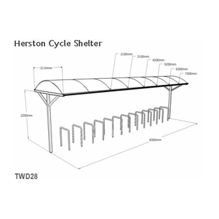 Herston Cycle Shelter