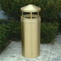 Rainshield Trash Receptacles